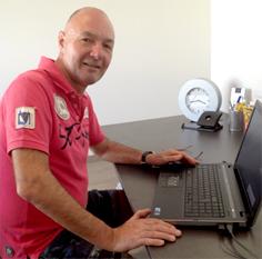 Geschäftsführer Heinz Gruner